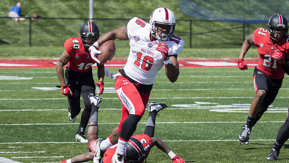 Cardinals Release Updated Depth Chart for Season Opener - Ball State