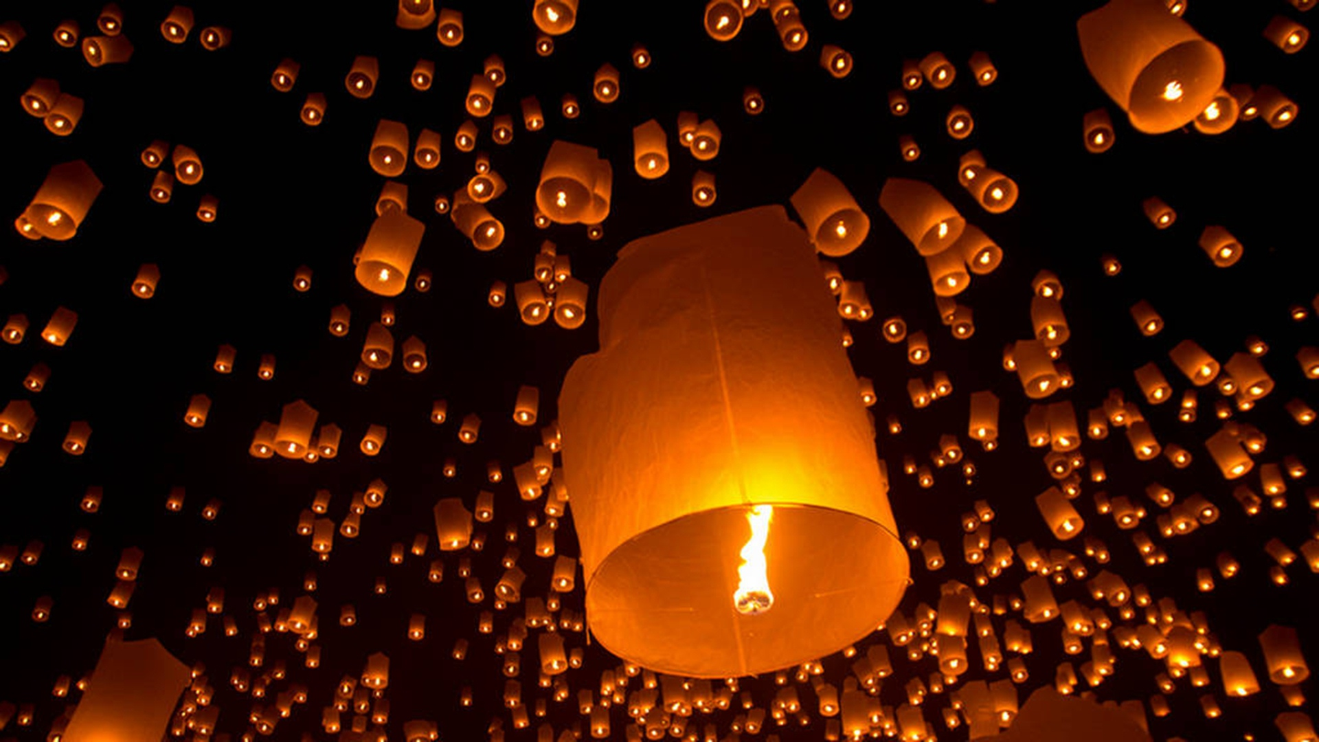 Sky Lanterns Wallpaper Iphone Diwali Sky Lamp Wallpaper