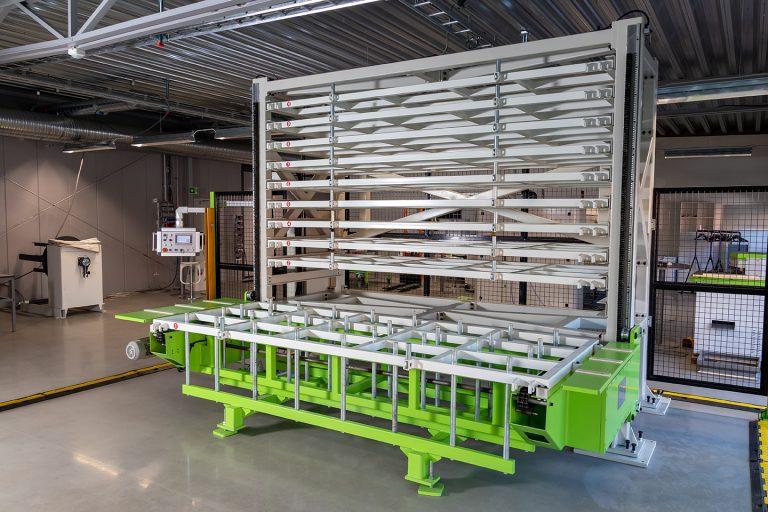 CIDAN STACKMASTER plokščių saugojimo įranga