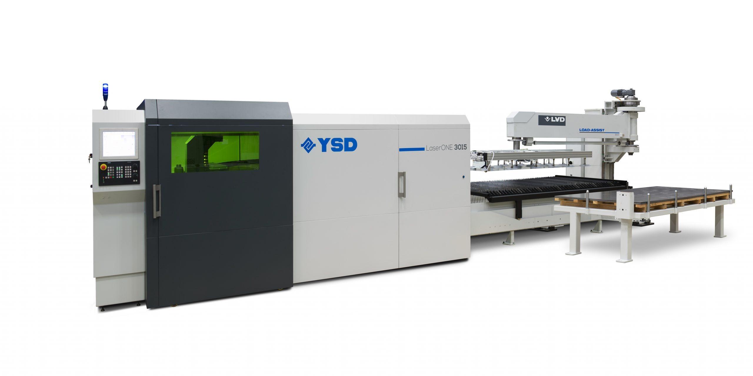 Lakštų pjovimo lazeris LVD YSD Laser One