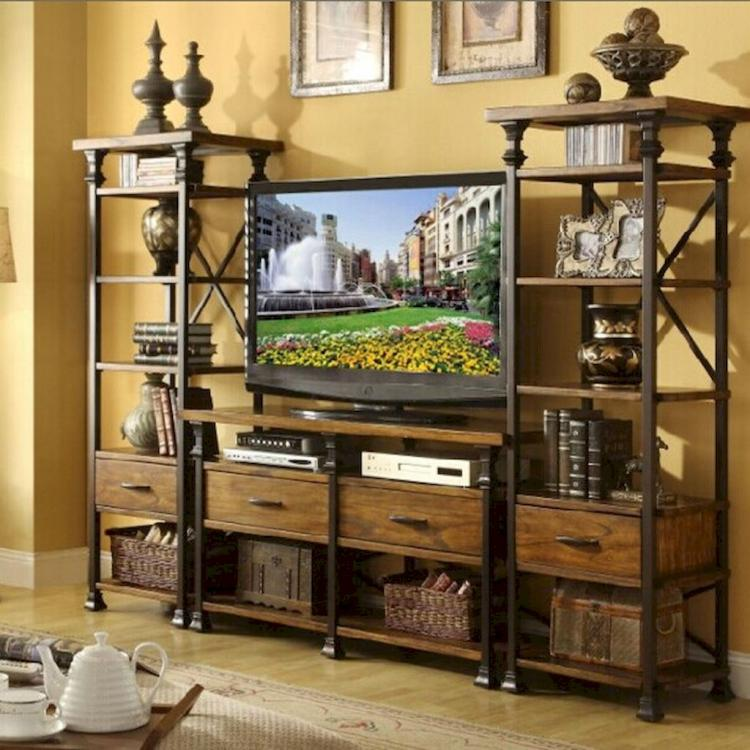 Muebles Para Tv En Metal 55+ Diy Industrial Furniture Entertainment Center