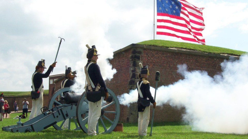 Fort McHenry National Monument. Courtesy National Park Service.