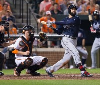 Nick Markakis - Baltimore Orioles -- Atlanta Braves