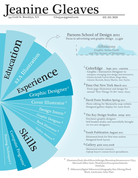 26 Best Graphic Design Resume Tips With Examples Cool Resumes For Graphic Designer Baltozerdesign