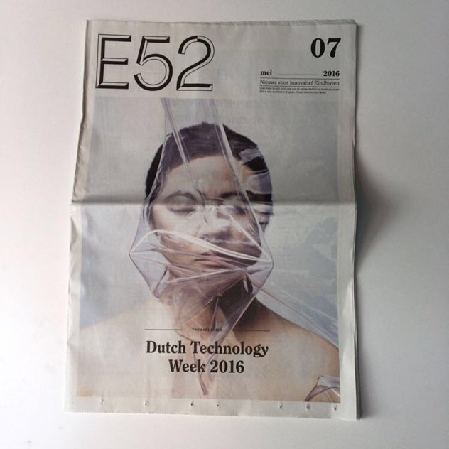 papercover e52 hairstyle makeup BAMhairstyle eindhoven newspaper dutchtechnology
