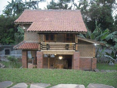 Desain Rumah Modern On Contoh Desain Rumah Bambu Modern Minimalis & desain rumah joglo minimalis