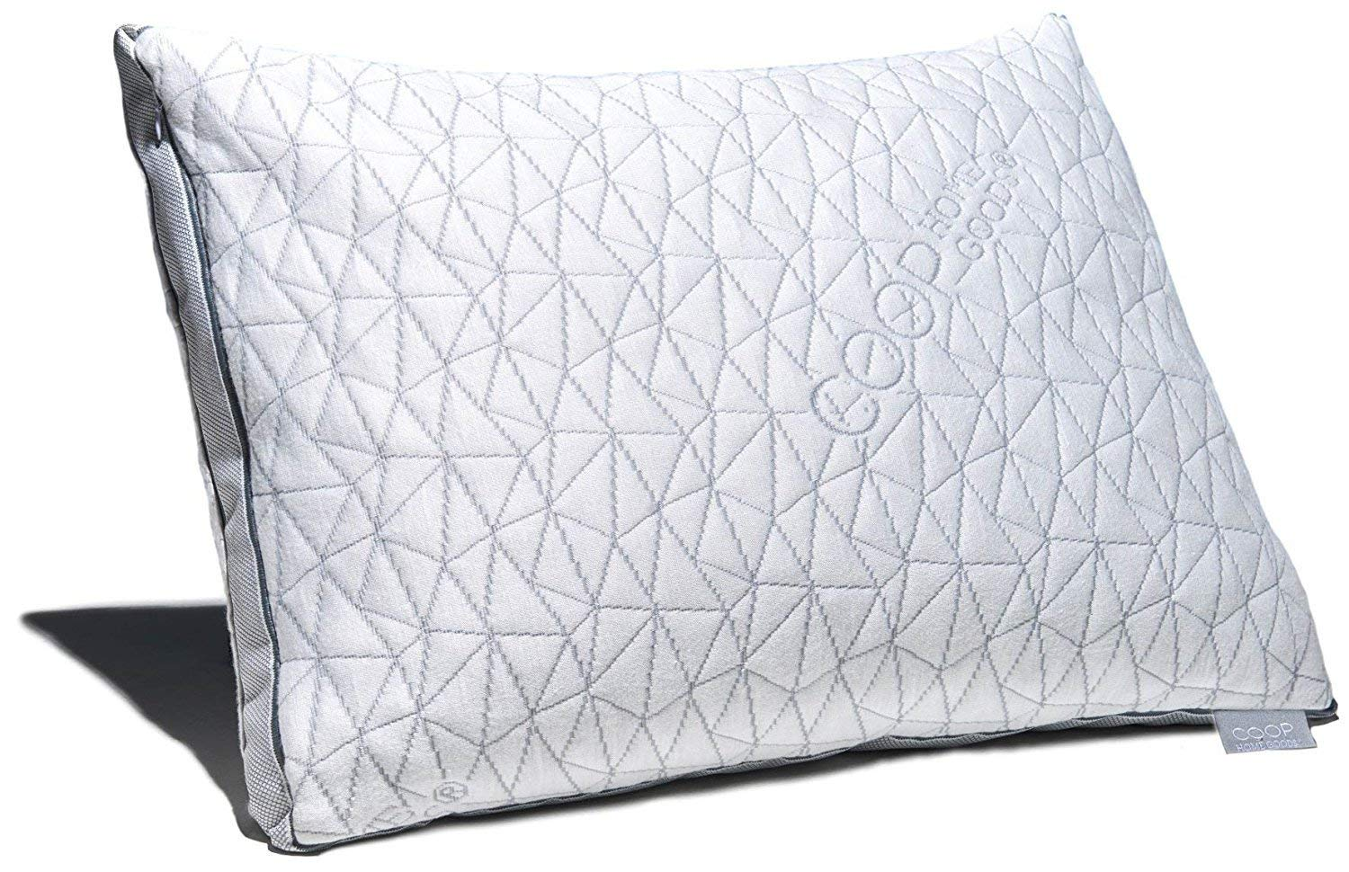 Gel Infused Memory Foam Pillow Coop Home Goods Eden Shredded Memory Foam Pillow With Cooling