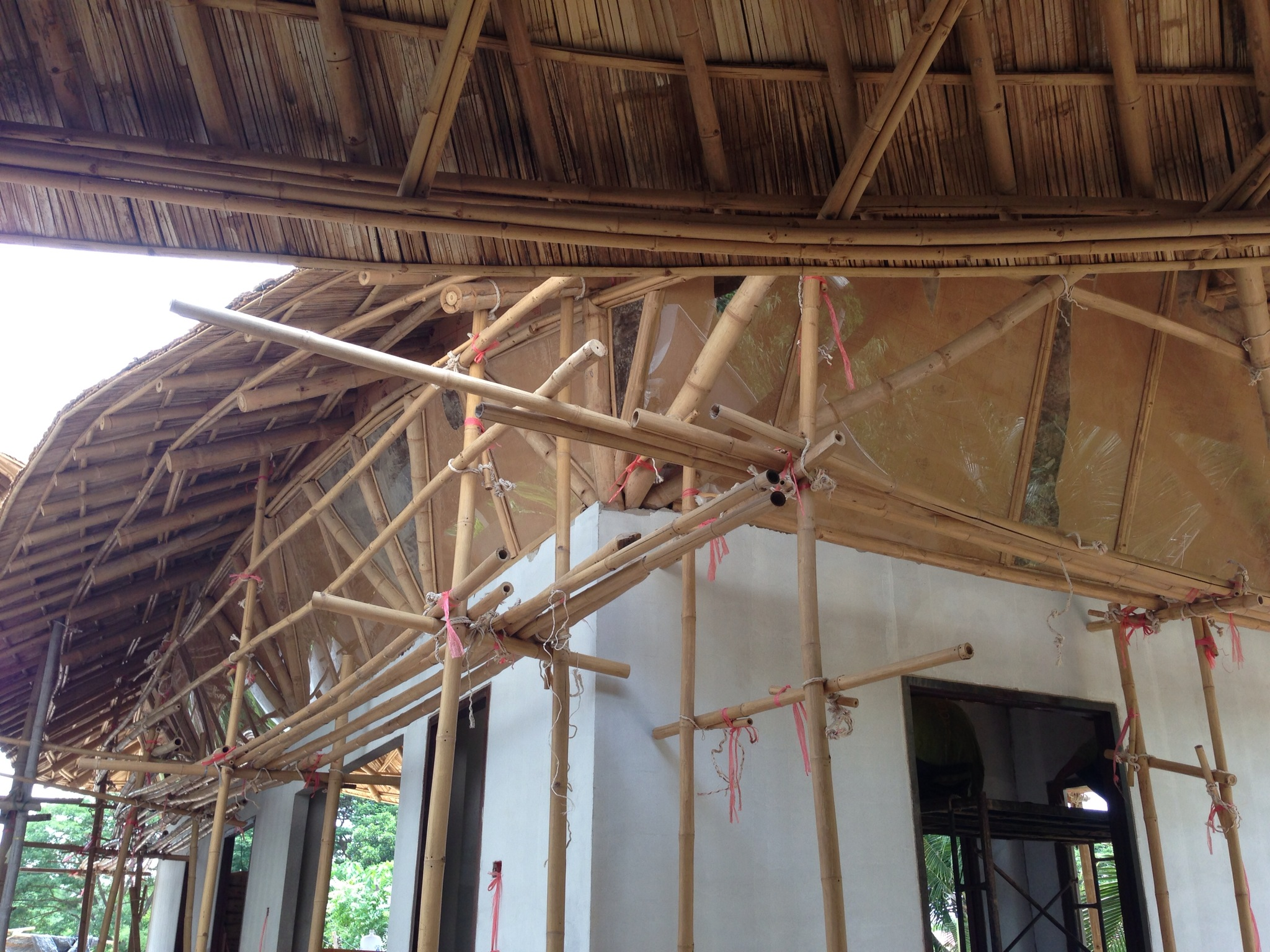 Big Living Room Design Bamboo Roof Private Residence In Lampang | Chiangmai Life