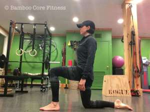 The Active Kneeling Hip Flexor Stretch