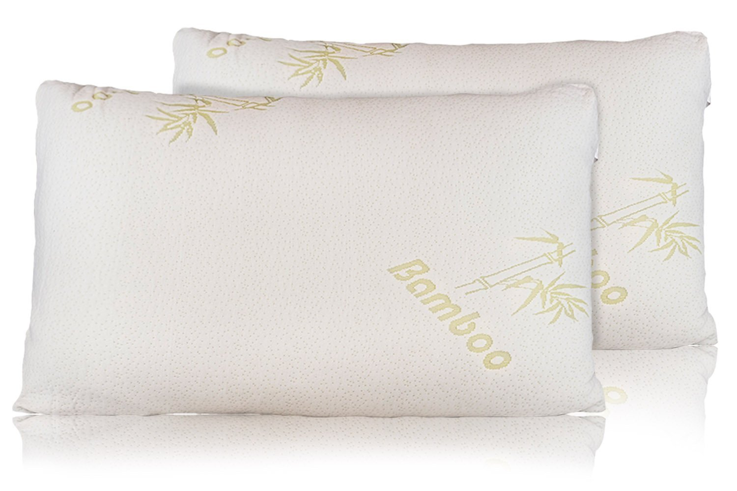 Firm Memory Foam Pillow Relax Home Life Bamboo Pillow With Firm Shredded Memory Foam
