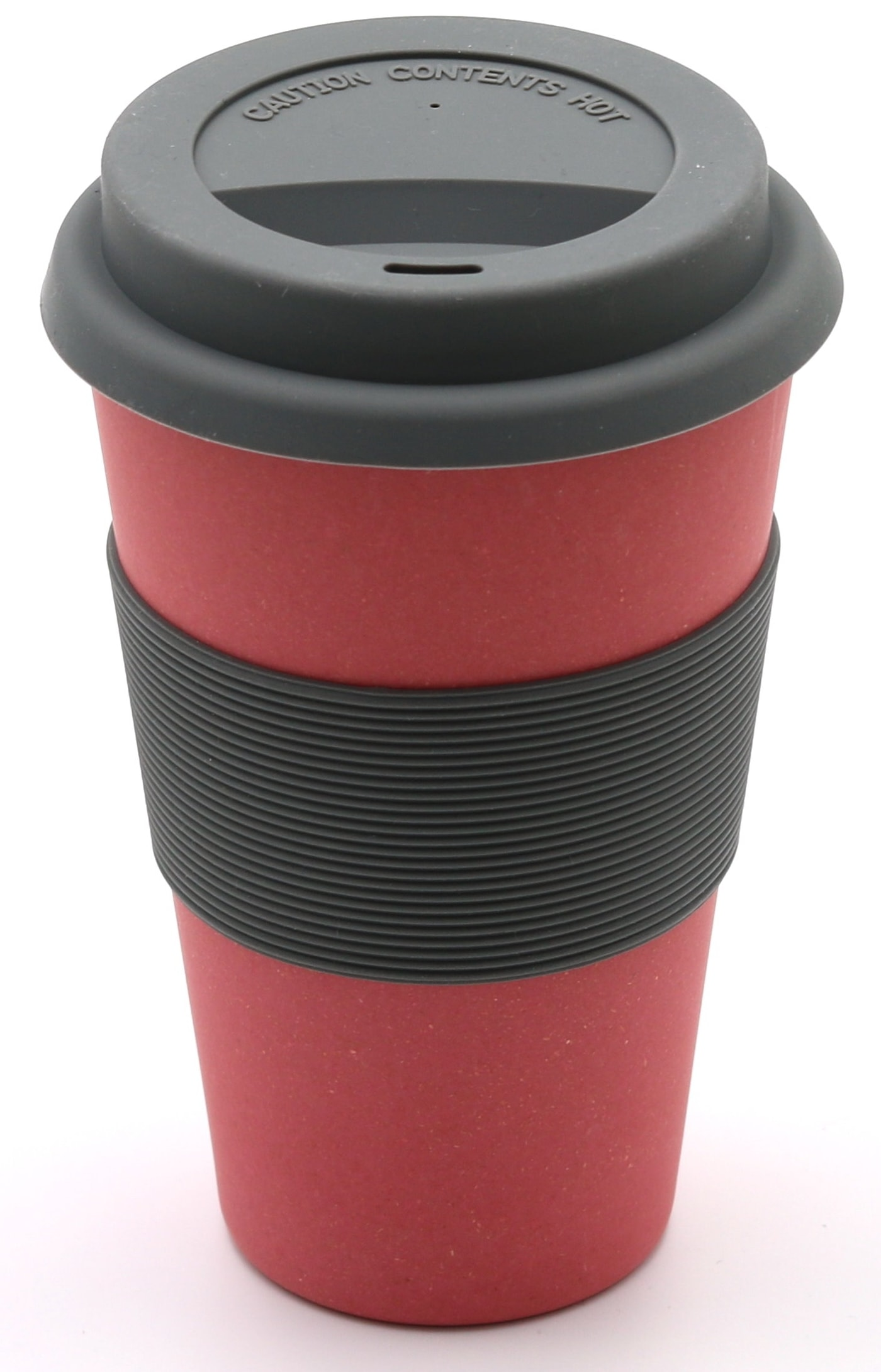 Bambus Becher Mit Namen Bamboo Coffee To Go Cup Nature Red
