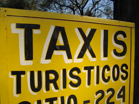 ¿Alguien pidió un taxi?