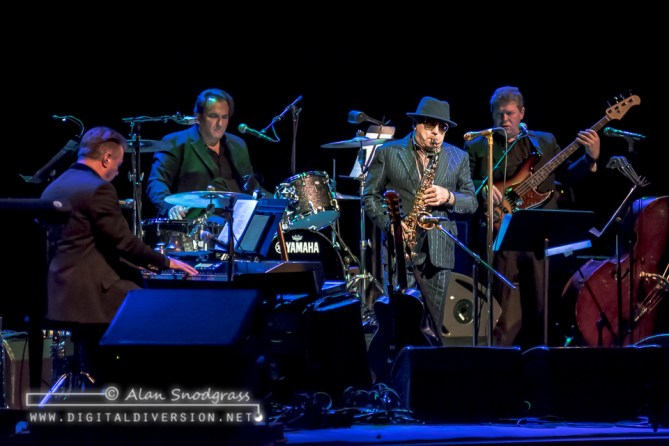 A few moments from a night with Van Morrison