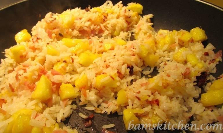 Bam's Kitchen - Hawaiian Luau Rice - Bam's Kitchen