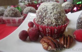 Cranberry Spiced Holiday Balls