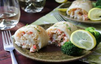 Crab Stuffed Whitefish / http://bamskitchen.com