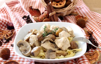 Chicken Filet with Chestnuts - Culinary Flavors