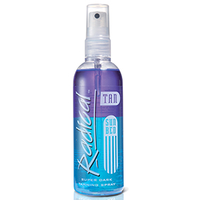 Radical-Beta-Radical rapid sun bed tanning spray super dark