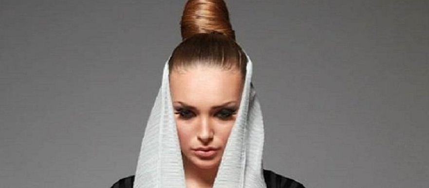 عارضة أزياء أوكرانية - سعودية تحصد شهرة واسعة في المملكة