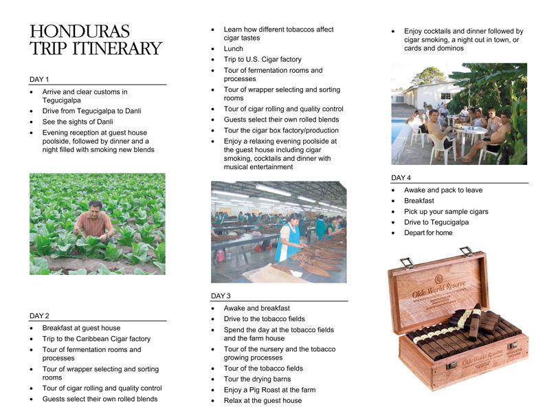 RP Trip Brochure « The BB Cigar Club
