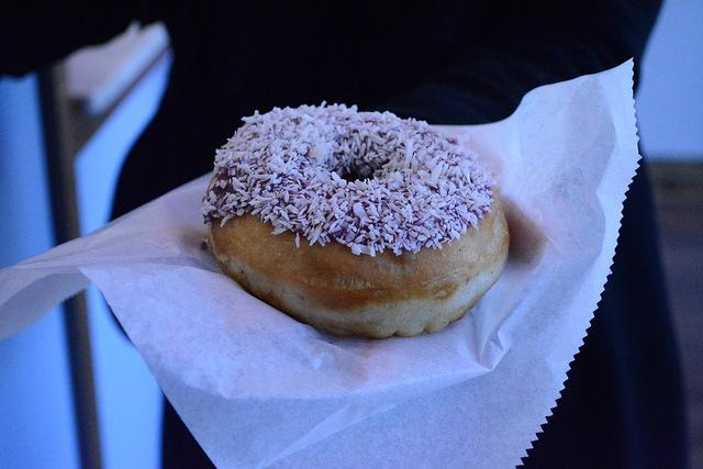 Dottie's Donuts Blueberry Coconut