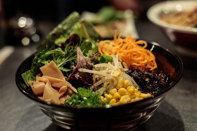 Veggie Ramen at Hiro