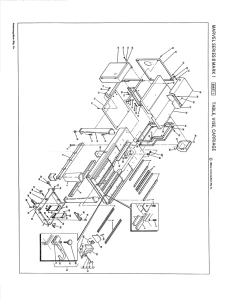 marvel saw wiring diagram