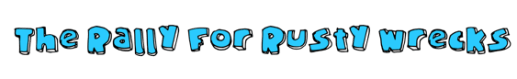 RRR the rally for rusty wreck-