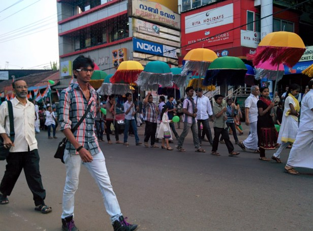 Demonstration in Kannur