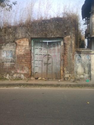 Old door on Bazaar Street