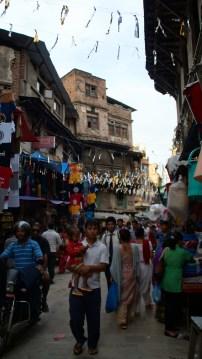 Kurz vor dem Durbar Square