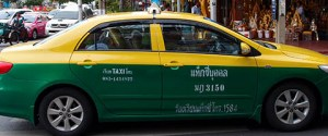 Thai taxi ranked 8th for best Taxi in the world