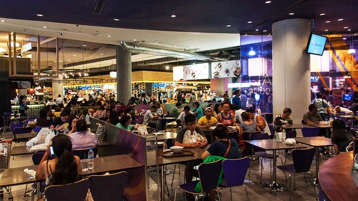 Food court at Siam Paragon