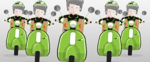 GrabTaxi now also with motorcycle taxi