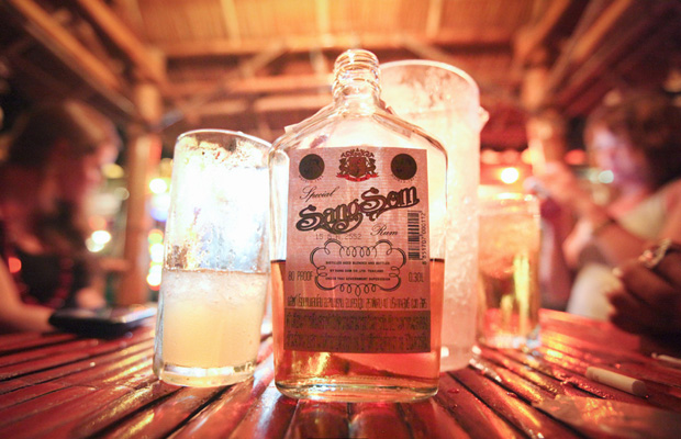 Sangsom Thai Whiskey