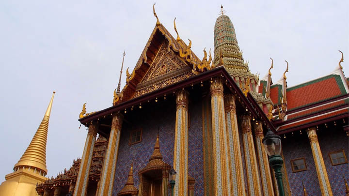 The Grand Palace is more strict regarding modest clothes