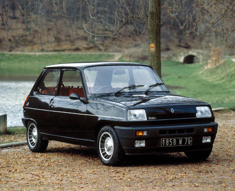 Bangshift com random car history renault 5 turbo the