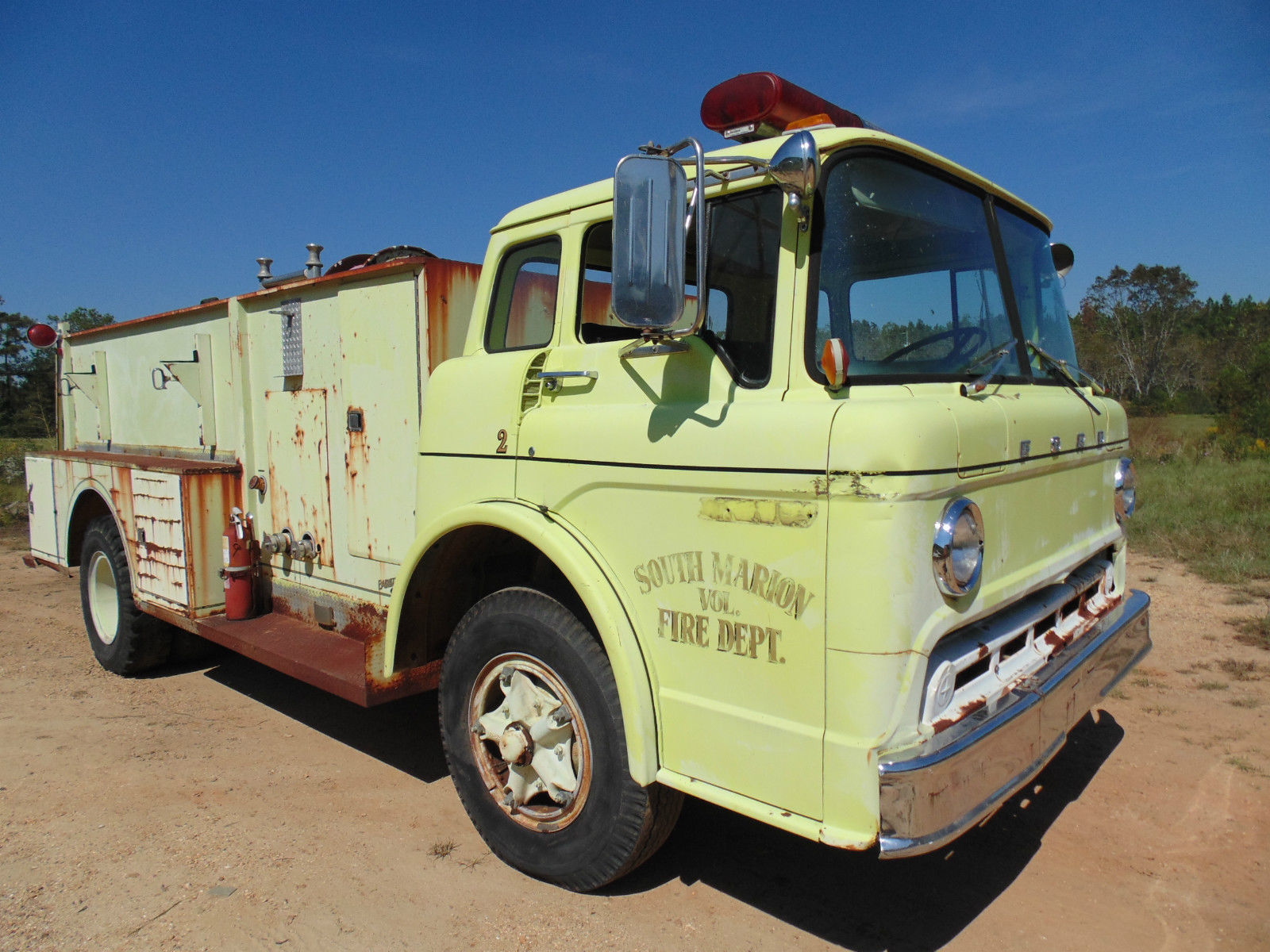 Baby Truck Bangshift No Reserve Buy This Fire Truck For Cheap