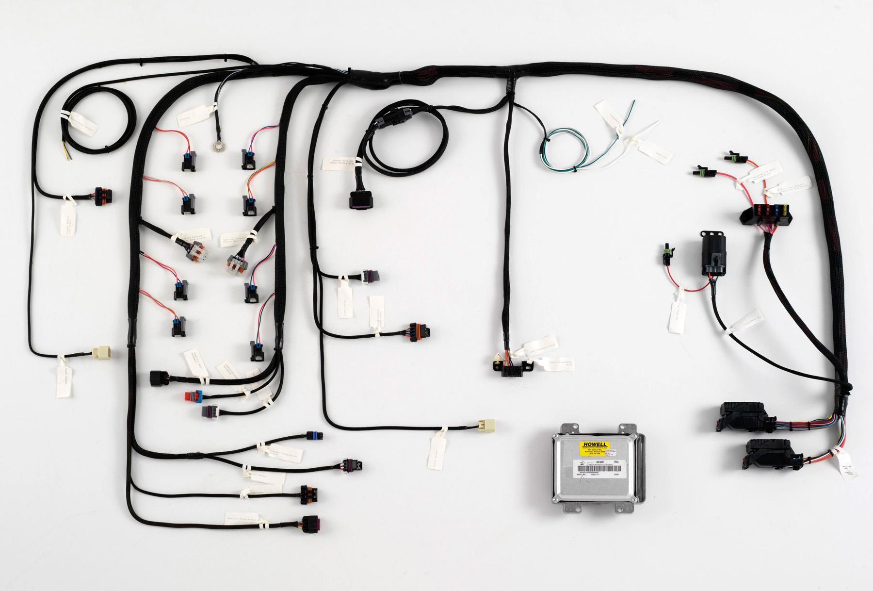 transplant a ls engine wiring