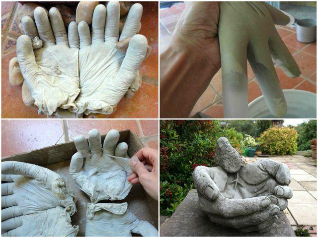 Садовые фигурки своими руками из гипса