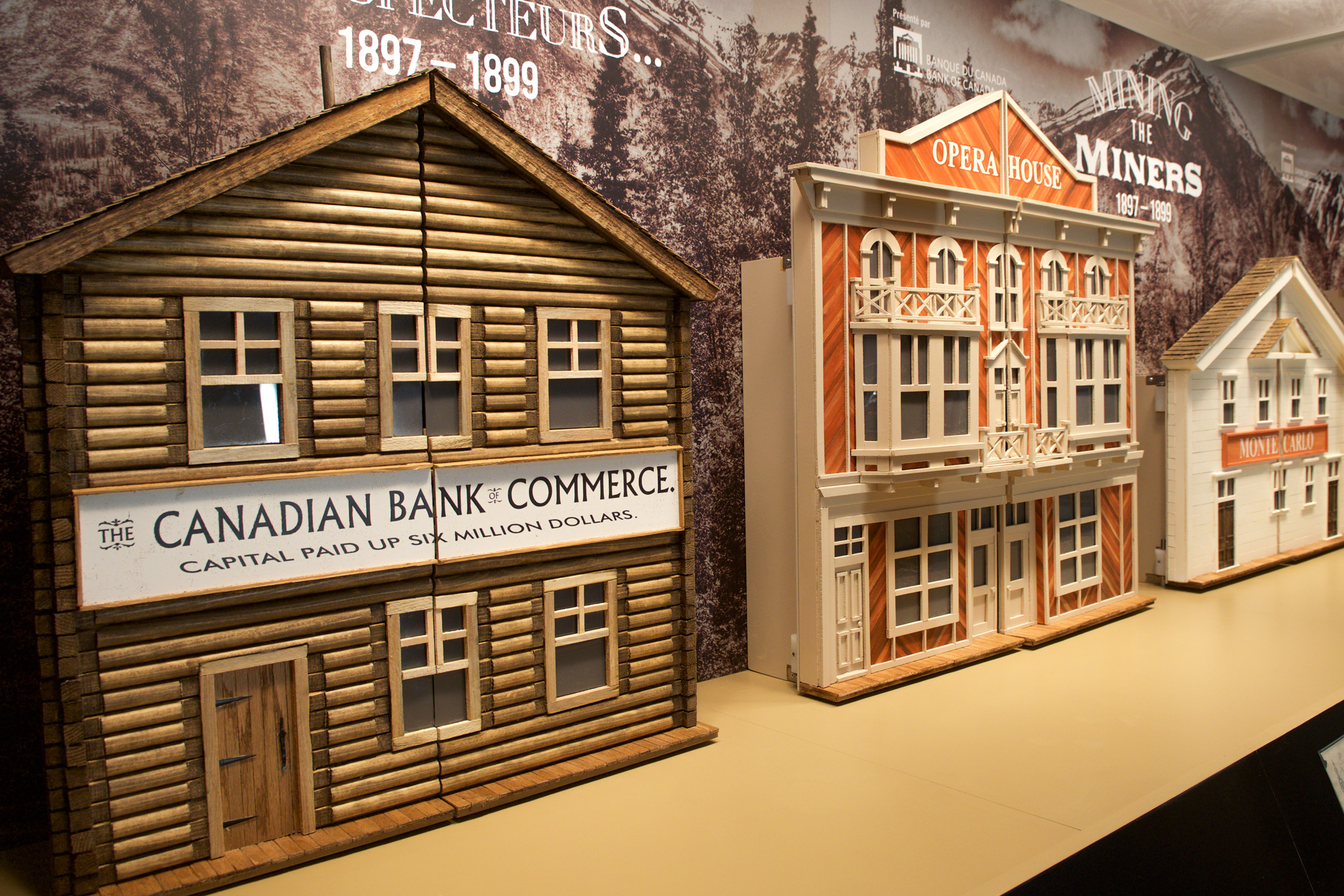 Home Bank Of Canada Mining The Miners Bank Of Canada Museum