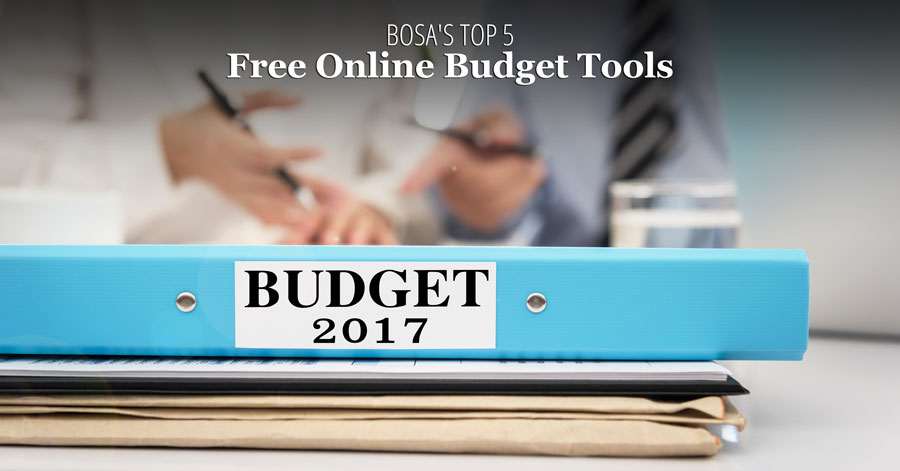 Top 5 Free Online Budget Tools Bank On South Alabama - budget online free