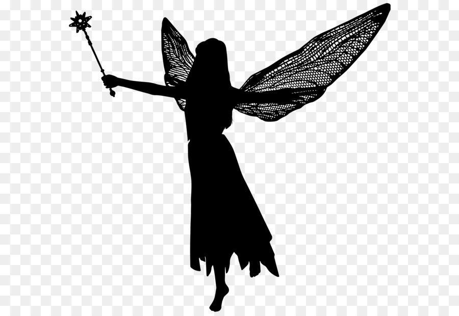 Looking Down Art Fairy Silhouette  9 Best Printable Fairy