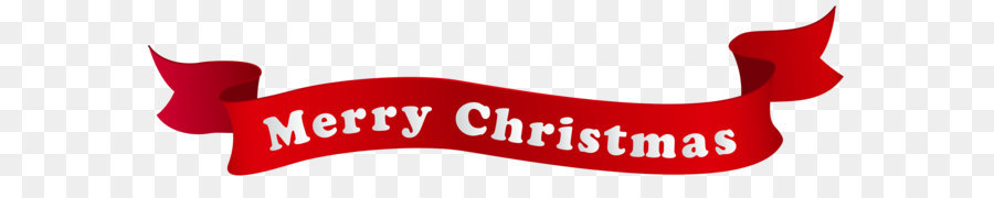 Christmas Banner Holiday Clip art - Merry Christmas Banner PNG