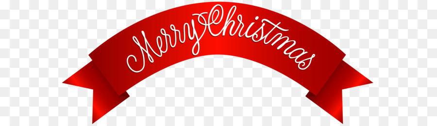 Christmas Banner Clip art - Merry Christmas Banner PNG Clip Art