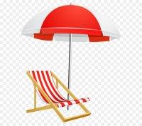 Umbrella Beach Clip art - Beach Umbrella and Chair ...