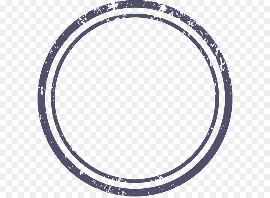 Clock Icon - Dark blue circle border png download - 2591*2612 - Free