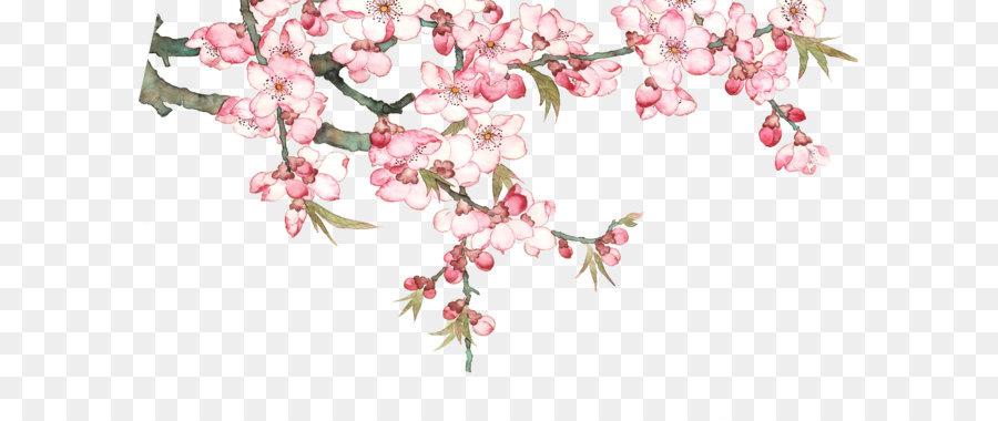 Falling Leaves Wallpaper Free Download Download Pixel Watercolor Peach Blossom Peach Tree Png