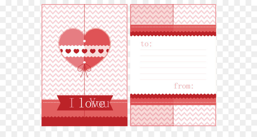 Love letter Template - Exquisite wedding greeting card design png