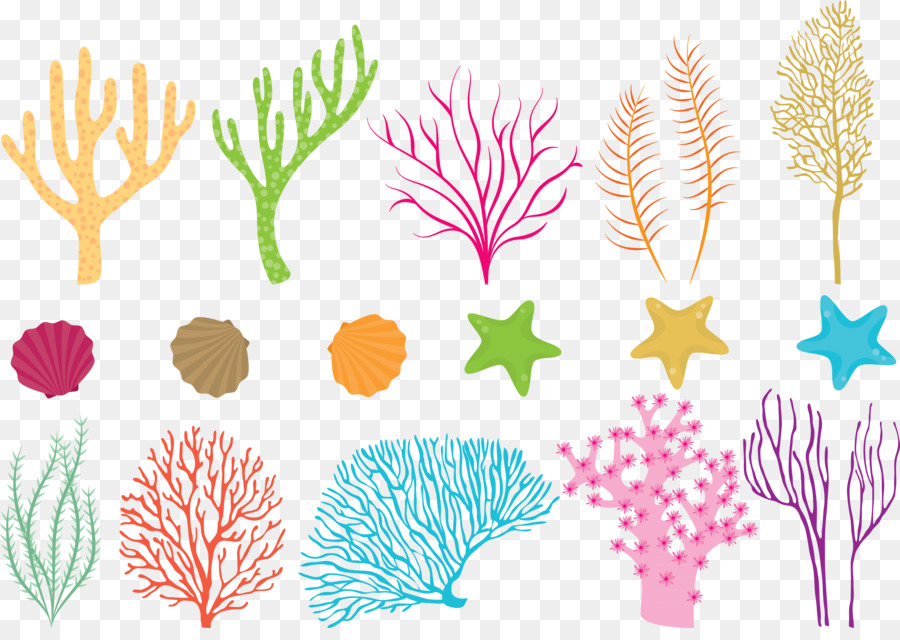 Clipart Images Pencil Coral Reef Fish Sea Vector Colored Coral 4300 3002